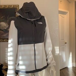 North face fleece coat